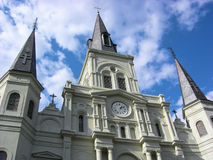 St. Louis Cathedral New Orleans Royalty Free Stock Photos