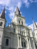 St. Louis Cathedral New Orleans Royalty Free Stock Images