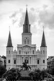St. Louis Cathedral New Orleans Imagen de archivo