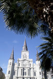 St. Louis Cathedral in New Orleans. Historic building St. Louis Cathedral in New Orleans, Louisiana USA Stock Images