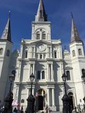 St Louis Cathedral New Orleans Louisiana immagini stock