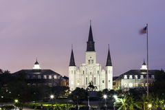 St. Louis Cathedral in New Orleans, Louisiana Royalty Free Stock Image