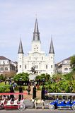 St Louis Cathedral in New Orleans, Louisiane stock afbeelding