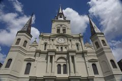 St. Louis Cathedral in New Orleans, USA Stockfotos