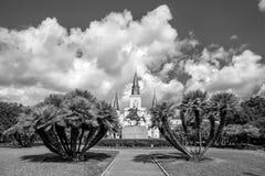 St Louis Cathedral no bairro francês, Nova Orleães, Louisian Foto de Stock