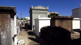 St Louis Cemetery No de Nova Orleães 1 sepulturas velhas Nova Orleães Louisiana filme