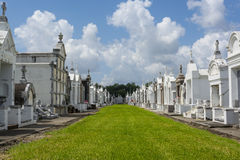 St Louis Cemetery No 3 New Orleans, Louisiana Arkivfoto