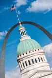 St Louis Courthouse et voûte photos libres de droits