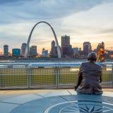St Louis da baixa Fotografia de Stock