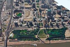 St.Louis de stad in royalty-vrije stock foto