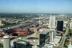 St Louis do centro Imagem de Stock