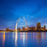 St. Louis downtown Royalty Free Stock Photos