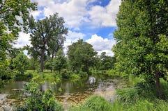 St Louis Forest Park Royalty-vrije Stock Afbeeldingen
