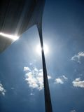 St Louis Gateway Arch. Image of the Gateway Arch in St Louis on a beautiful summer day Stock Photo