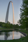 St Louis Gateway Arch Royalty Free Stock Photography