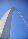 St. Louis Gateway Arch. The Gateway Arch in St. Louis, MO Stock Photos