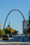 St. Louis - home of the Gateway Arch (II) Royalty Free Stock Photos