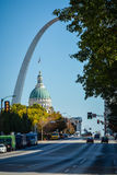 St. Louis - home of the Gateway Arch Royalty Free Stock Image