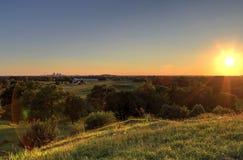 St Louis i, Missouri linia horyzontu zdjęcie stock
