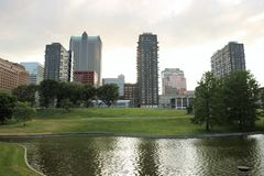 St Louis im Stadtzentrum gelegen lizenzfreies stockfoto