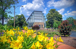 St. Louis Jewel Box. Jewel Box located in Forest Park, St. Louis, Missouri royalty free stock photo