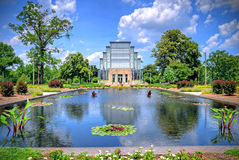 St. Louis Jewel Box. Jewel Box located in Forest Park, St. Louis, Missouri Stock Photo