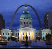 St Louis - Missouri - Amerikas förenta stater arkivbilder