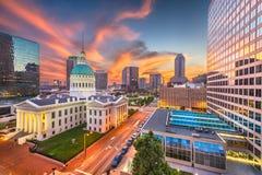 St Louis, Missouri, EUA imagem de stock