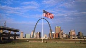 St Louis, Missouri linia horyzontu zbiory wideo