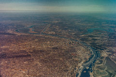 St Louis Missouri stanu widok z lotu ptaka zdjęcia royalty free