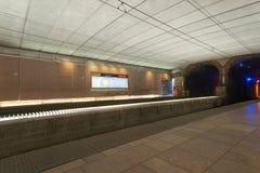 St Louis, Missouri, usa metra Sztachetowa stacja obrazy stock