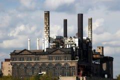 St.Louis - oude fabriek stock foto