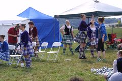 St Louis Scottish Games 2018 images stock