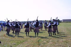 St Louis Scottish Games 2018 royaltyfria bilder
