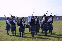 St Louis Scottish Games 2018 photos libres de droits