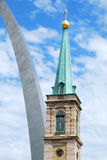 St. Louis sityscape Stock Images