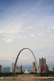 St. Louis Skyline - Gateway Arch Stock Photo