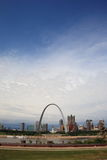 St. Louis Skyline - Gateway Arch Royalty Free Stock Photo