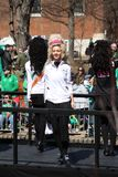 St. Louis St. Patrick Day Parade Dancers 2019 II royalty free stock photos