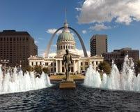 St. Louis - Staaten von Amerika Stockbild