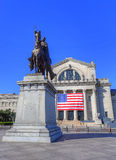 St Louis statua fotografia royalty free