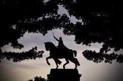 St. Louis Statue Lizenzfreie Stockbilder