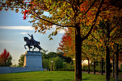 St. Louis Statue Stockbild