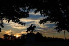 St Louis Statue arkivfoton