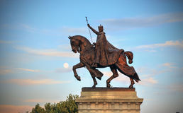 St Louis Statue arkivfoto