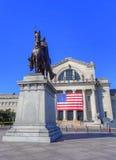 St Louis Statue royaltyfri fotografi