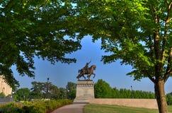 St Louis Statue royaltyfri foto