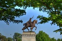 St Louis Statue arkivbilder