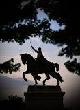 St. Louis Statue. Apotheosis of St. Louis is a statue of King Louis IX of France in St. Louis, Missouri Stock Photos