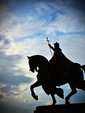 St. Louis Statue. Apotheosis of St. Louis is a statue of King Louis IX of France in St. Louis, Missouri Stock Images